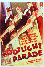 This is an image of Vintage Reproduction of Footlight Parade 295293