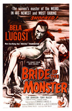 This is an image of Vintage Reproduction of Bride of the Monster 295295