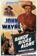 This is an image of Vintage Reproduction of Randy Rides Alone 295320
