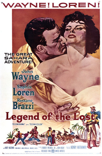 This is an image of Vintage Reproduction of Legend of the Lost 295322