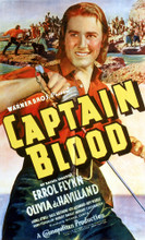 This is an image of Vintage Reproduction of Captain Blood 295838