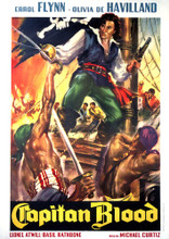 This is an image of Vintage Reproduction of Captain Blood 295855