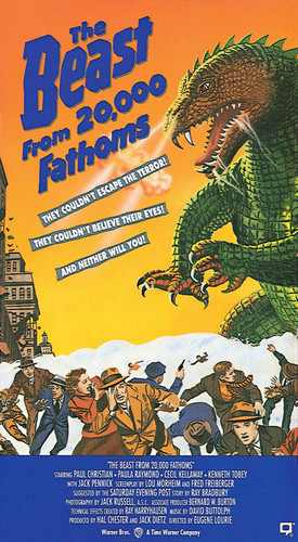 This is an image of Vintage Reproduction of The Beast from 20,000 Fathoms 295859