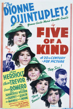 This is an image of Vintage Reproduction of Five of a Kind 296348