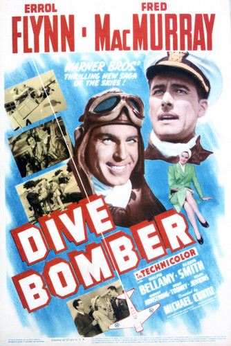 This is an image of Vintage Reproduction of Dive Bomber 296357