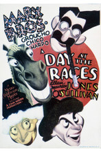 This is an image of Vintage Reproduction of A Day at the Races 296384