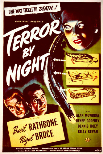 This is an image of Vintage Reproduction of Terror by Night 296489