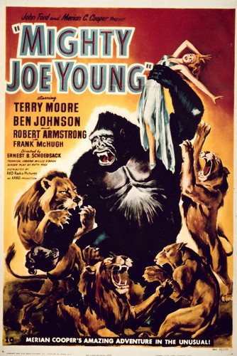 This is an image of Vintage Reproduction of Mighty Joe Young 296497