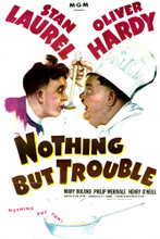 This is an image of Vintage Reproduction of Nothing but Trouble 296499