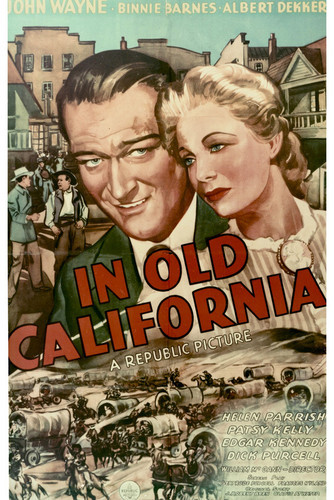 This is an image of Vintage Reproduction of In Old California 296500