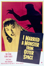 This is an image of Vintage Reproduction of I Married a Monster from Outer Space 296516