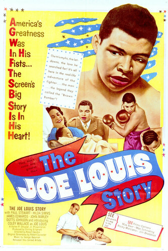 This is an image of Vintage Reproduction of The Joe Louis Story 296520