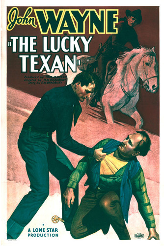 This is an image of Vintage Reproduction of The Lucky Texan 296873