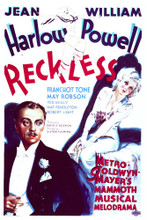 This is an image of Vintage Reproduction of Reckless 297029