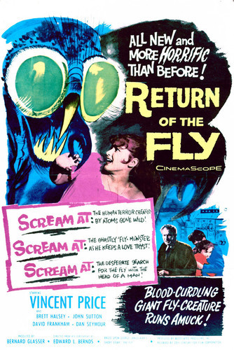 This is an image of Vintage Reproduction of Return of the Fly 297033