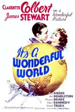 This is an image of Vintage Reproduction of It's a Wonderful World 297036