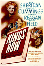This is an image of Vintage Reproduction of Kings Row 297038