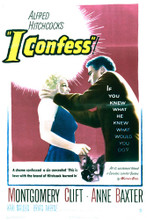 This is an image of Vintage Reproduction of I Confess 297039