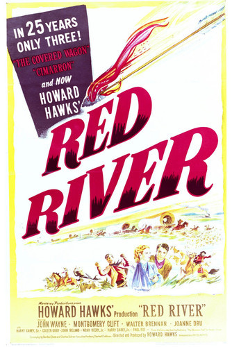 This is an image of Vintage Reproduction of Red River 297042