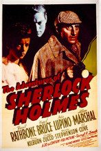 This is an image of Vintage Reproduction of The Adventures of Sherlock Holmes 1939 297045