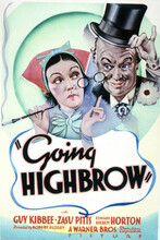 This is an image of Vintage Reproduction of Going Highbrow 297053