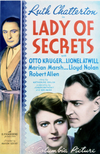 This is an image of Vintage Reproduction of Lady of Secrets 297655