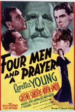 This is an image of Vintage Reproduction of Four Men and a Prayer 297058