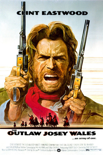 This is an image of Vintage Reproduction of The Outlaw Josey Wales 297059