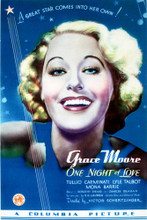 This is an image of Vintage Reproduction of One Night of Love 297063
