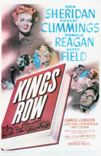 This is an image of Vintage Reproduction of Kings Row 297664