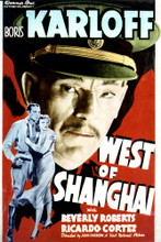 This is an image of Vintage Reproduction of West of Shanghai 297065
