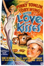 This is an image of Vintage Reproduction of With Love and Kisses 297074