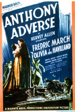 This is an image of Vintage Reproduction of Anthony Adverse 297082