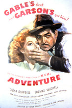 This is an image of Vintage Reproduction of Adventure 297085