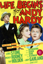 This is an image of Vintage Reproduction of Life Begins for Andy Hardy 297088
