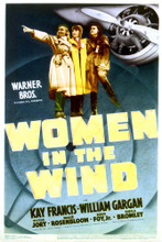 This is an image of Vintage Reproduction of Women in the Wind 297092