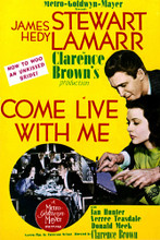 This is an image of Vintage Reproduction of Come Live with Me 297101