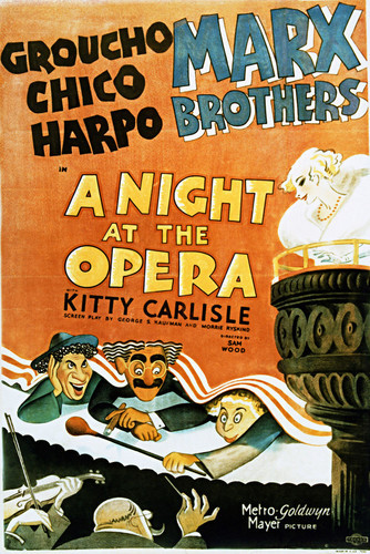 This is an image of Vintage Reproduction of A Night at the Opera 297103