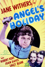 This is an image of Vintage Reproduction of Angel's Holiday 297104