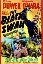 This is an image of Vintage Reproduction of The Black Swan 297119