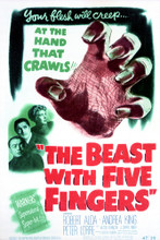 This is an image of Vintage Reproduction of The Beast with Five Fingers 297121
