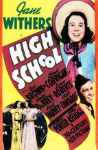 This is an image of Vintage Reproduction of High School 297672
