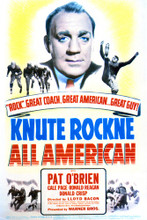 This is an image of Vintage Reproduction of Knute Rockne All American 297130