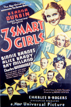 This is an image of Vintage Reproduction of 3 Smart Girls 297131