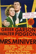 This is an image of Vintage Reproduction of Mrs. Miniver 297133