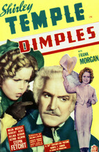 This is an image of Vintage Reproduction of Dimples 297685