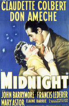 This is an image of Vintage Reproduction of Midnight 297689