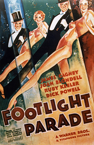 This is an image of Vintage Reproduction of Footlight Parade 297698