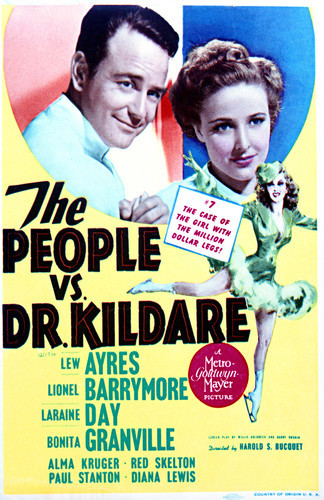 This is an image of Vintage Reproduction of The People Vs Dr Kildare 297706