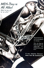 This is an image of Vintage Reproduction of Blonde Poison 297286
